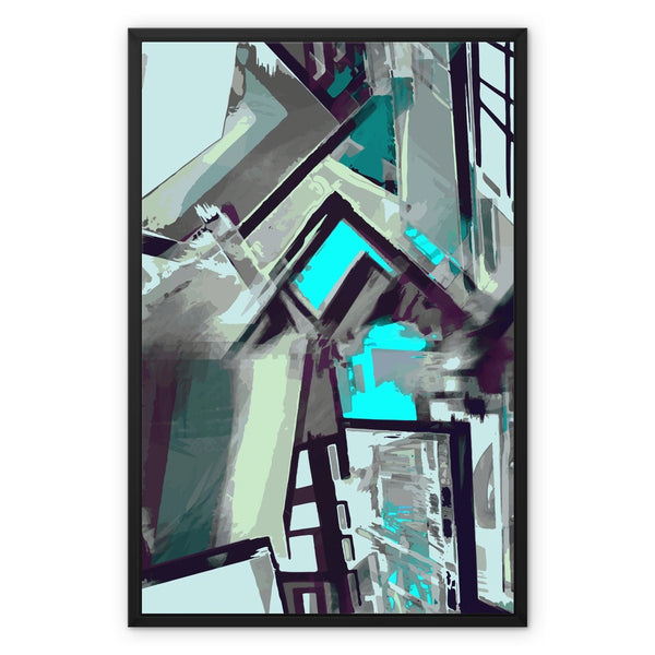 blast 3.1 Framed Canvas
