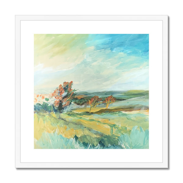 petworth park , 2pm- 5pm Framed & Mounted Print