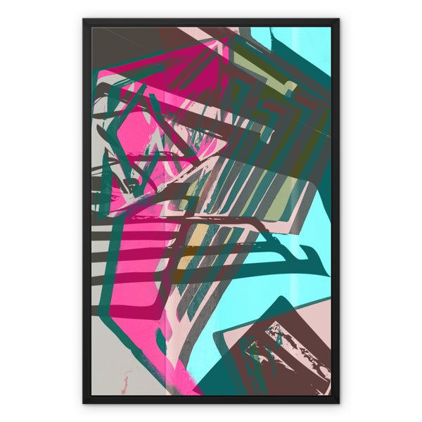 blast 5.2 Framed Canvas