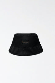 Minti Nylon Bucket Hat - Black