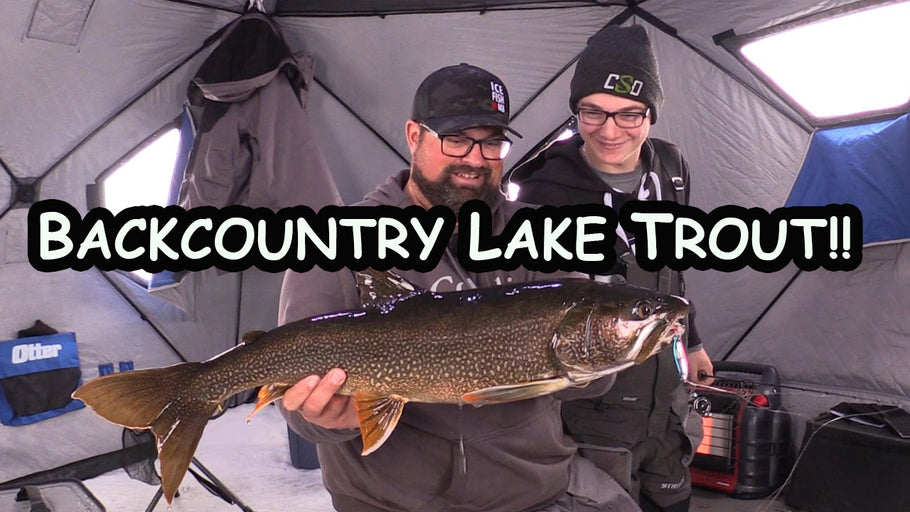 First Ice Fishing Lake Trout trip of the year! (Northern Manitoba)