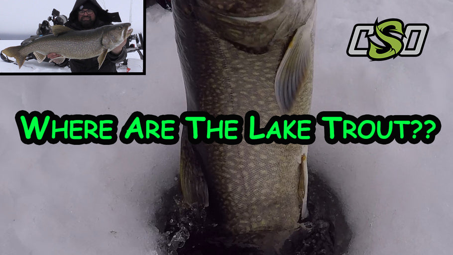 Northern Manitoba | Ice fishing for Lake Trout!!