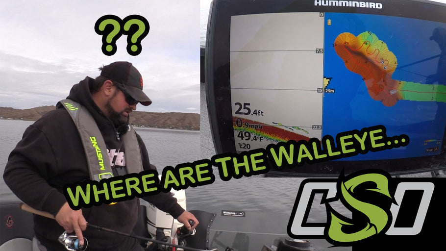 Where are the Walleye??