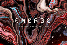 Load image into Gallery viewer, Emerge: 12 Abstract Paint Textures