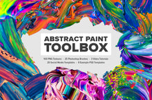 Load image into Gallery viewer, Abstract Paint Toolbox