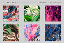 Load image into Gallery viewer, Coalesce: 12 Abstract Paint Textures