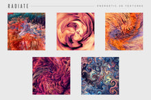 Load image into Gallery viewer, Radiate: Energetic 3D Textures
