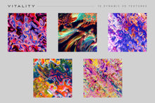 Load image into Gallery viewer, Vitality: 15 Dynamic Textures