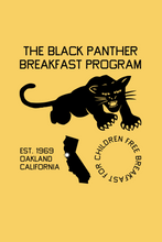 Load image into Gallery viewer, The Black Panther Breakfast Program Tee - Short-Sleeve Unisex T-Shirt