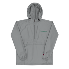 Load image into Gallery viewer, Processing - Embroidered Champion Packable Jacket