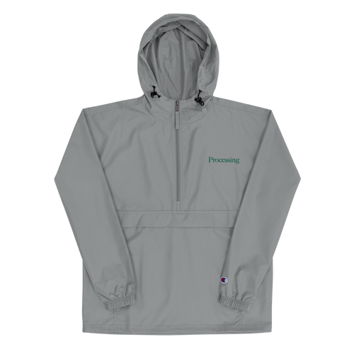Processing - Embroidered Champion Packable Jacket