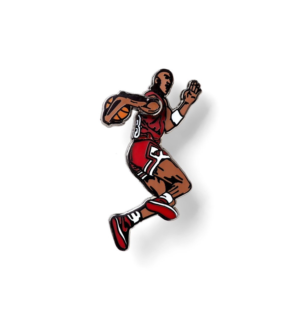 JUMPMAN LAPEL PIN (SPINNING ARM)