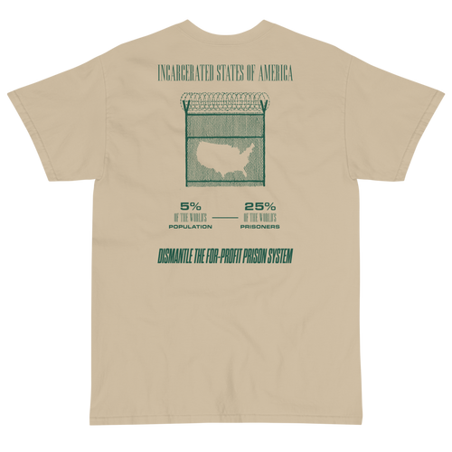 Incarcerated States of America - Short Sleeve T-Shirt