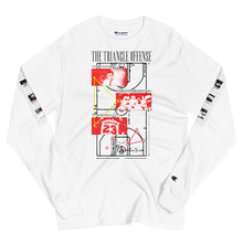 Load image into Gallery viewer, The Triangle Offense - Men's Champion Long Sleeve Shirt