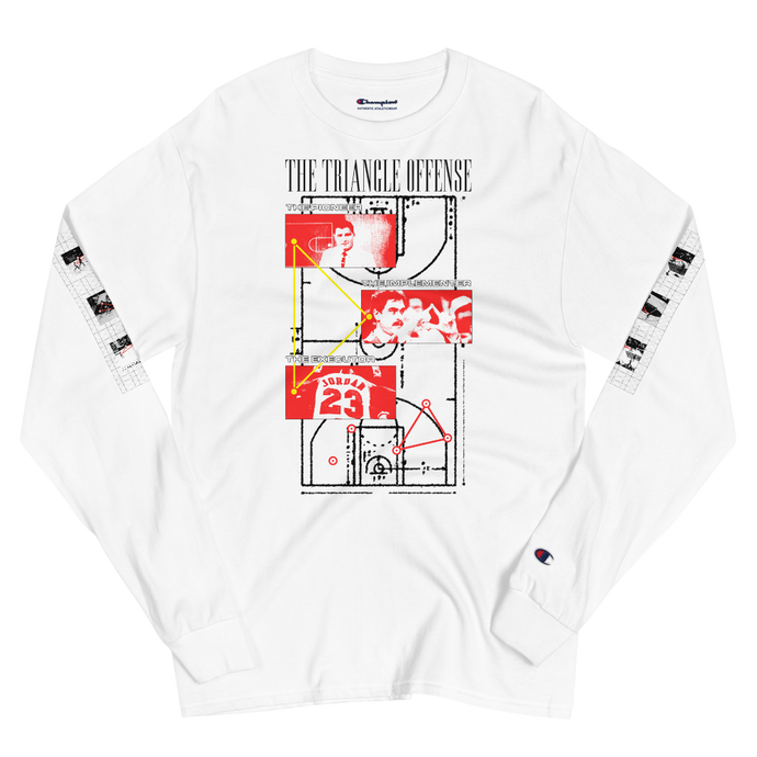 The Triangle Offense - Men's Champion Long Sleeve Shirt