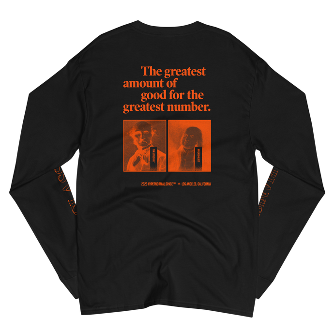 For The Greatest Number - Men's Champion Long Sleeve Shirt
