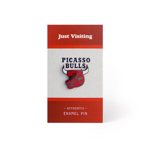 Picasso Bulls Pin