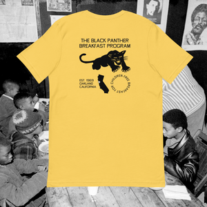 The Black Panther Breakfast Program Tee - Short-Sleeve Unisex T-Shirt