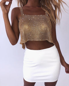Cropped Strass
