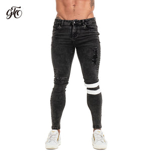 Calça Slim Fit Ripped