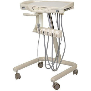 Flight Dental A-Series Mobile Doctor's Cart with Vacuum Package (MC-1300F)-Dental Tech-Optimate