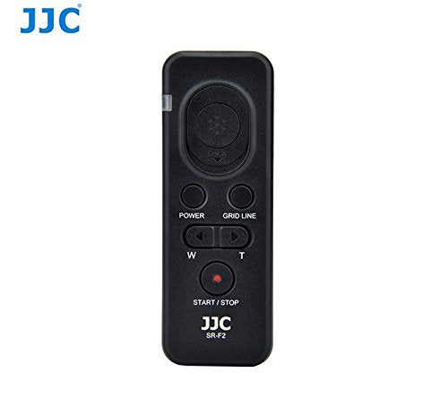 JJC SR-F2 Remote Commander Control for Sony Camera & Video A6300 RX100 II & III A7 A7R A7RII HX400
