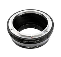 Fotasy FD Lens to Fuji X Adapter, Canon FD Lens to Fujifilm X Mount Adapter, Compatible with Fujifilm X-Mount X-Pro2 X-E2 X-E3 X-A5 X-M1 X-T1 X-T2 XT3 X-T10 X-T20 X-T30 X-H1
