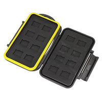 JJC MC-MSD16 Waterproof Holder Storage Memory Card Case for 16PCS Micro SD