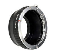 Fotasy Canon Lens to Fuji X Adapter, Canon EOS EF EFs Mount to Fujifilm X Mount Adapter, Compatible with Fujifilm X-Mount Cameras X-Pro2 X-E2 X-E3 X-A5 X-M1 X-T1 X-T2 XT3 X-T10 X-T20 X-T30 X-H1