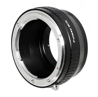 Fotasy Copper Nikon Lens to Fuji X Adapter, Nikon F Mount to X Mount Adapter, Compatible with Fujifilm X-Mount X-Pro1 X-Pro2 X-E1 X-E2 X-E3 X-A5 X-M1 X-T1 X-T2 X-T3 X-T10 X-T20 X-T30 X-H1 Cameras