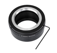 Adjustable Brass M42 Lens to Canon EOS M Adapter, M42 to EOS M Adapter, Compatible with 42mm Screw Mount Lens & Canon EOS M Mount Mirrorless Camera M1 M2 M3 M5 M6 M6 Mark II M10 M50 M100