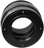 Fotasy M42 Lens to Canon EOS R Adapter Tube, M42 Lens to EOS R Macro Focusing Helicoid Extention Tube, fits $2mm Screw Lens & Canon EOS R/EOS RP Mirrorless Camera