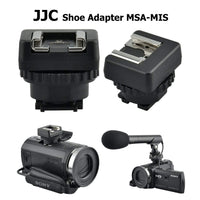 JJC MSA-MIS Sony Multi-Interface Shoe MIS to Universal Cold Shoe Adapter, MIS Shoe Adapter, fits Sony HDR-PJ350BDL HDR-CX900/B PJ810E HDR-PJ810/B PJ790VE HDR-PJ790E HDR-PJ780VE