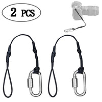 Camera Safety Tether Strap for DSLR and Mirrorless Professional Cameras Sling Camera Straps,2 Pack