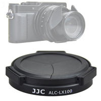 JJC ALC-LX100 Auto Open and Close Lens Cap For Panasonic LUMIX LX100 LX100 II and LEICA D-LUX(Typ 109) Camera