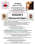 Hixson's Memorial Open Official Tees -Calligraphy Tee
