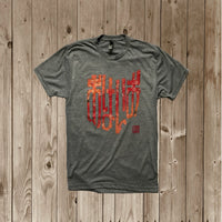 OHIO in Japanese - SAKURA - おはいお  TRI-BLEND TEE
