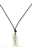 """Miracle"" Japanese Calligraphy Jewelry"