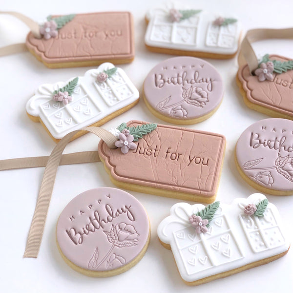 Gift Tag Stamp with Cutter