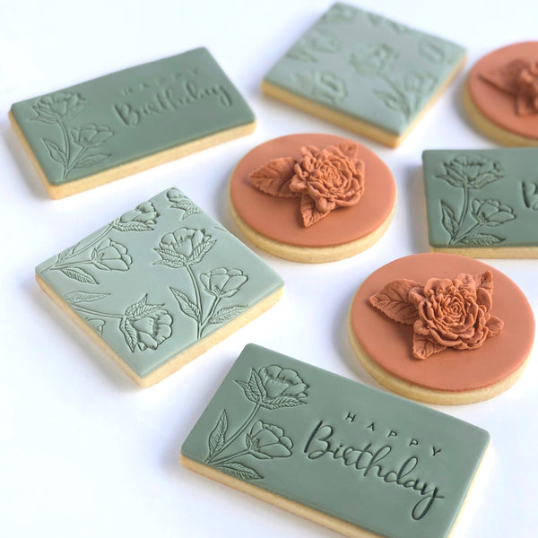 Happy Birthday Impression Stamp