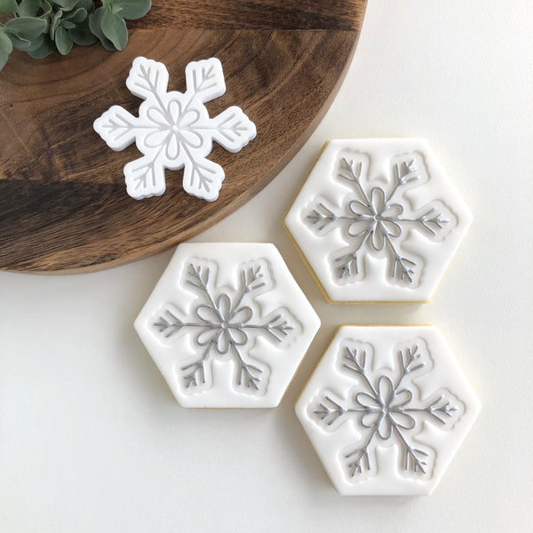 Snowflake Pop Stamp
