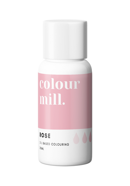 OIL BASED COLOURING 20ML ROSE