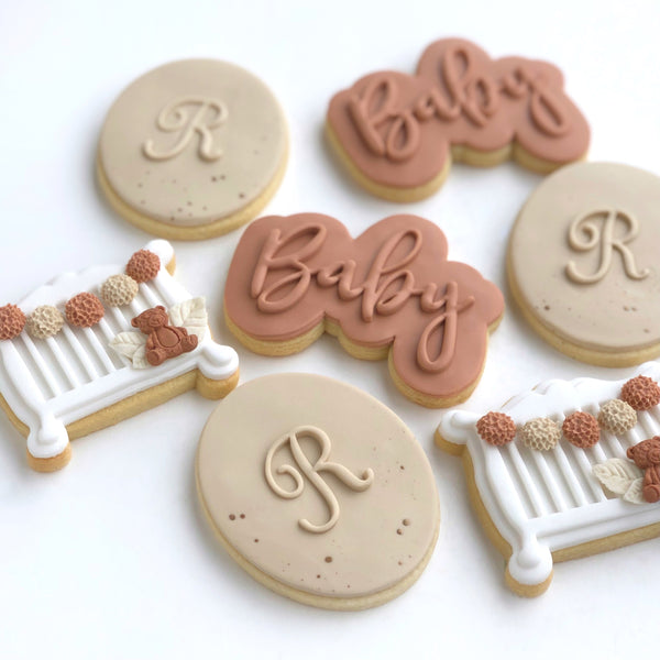 Fondant POP Stamps - Uppercase Script