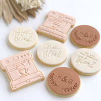 Coffee Machine Stamp with cutter