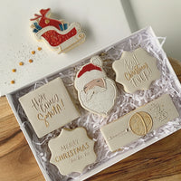 Santa Pop stamp with cutter