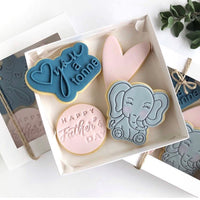 Elephant stamp with cutter
