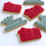 Merry Christmas Power Pop! Stamp with matching bubble cutter
