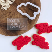 Cookies for Santa Pop! Stamp
