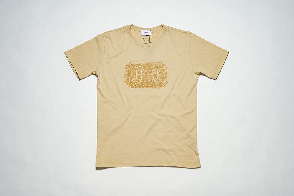 T-SHIRT LABEL BOX - FLOCK - BEIGE
