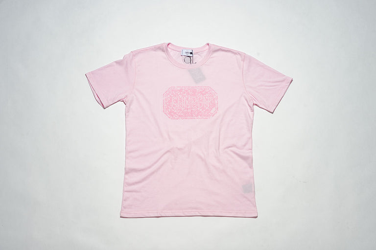 T-SHIRT LABEL BOX - FLOCK - LIGHT PINK